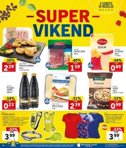 Lidl super vikend do 11. 06.