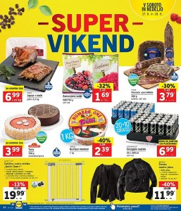 Lidl super vikend do 18. 06.