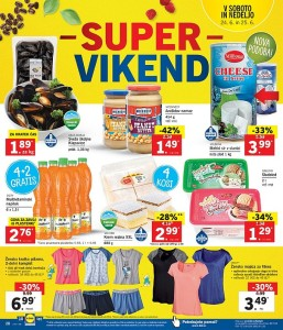 Lidl super vikend do 25. 06.