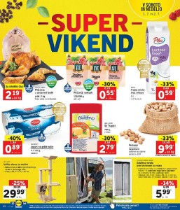 Lidl super vikend do 02. 07.