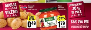 Mercator vikend akcija do 02. 07.