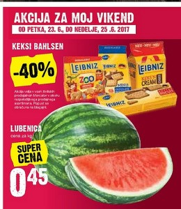 Mercator vikend akcija do 25. 06.