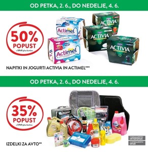 Spar in Interspar vikend akcija do 04. 06.
