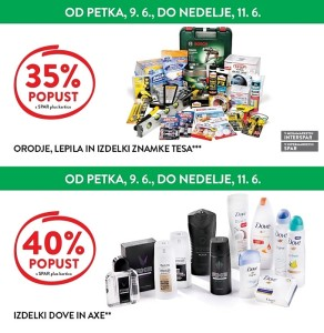Spar in Interspar vikend akcija do 11. 06.