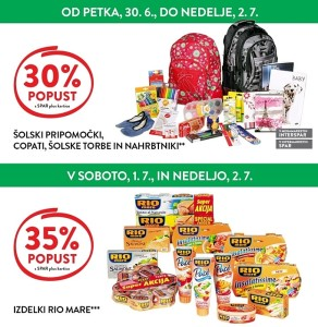 Spar in Interspar vikend akcija do 02. 07.