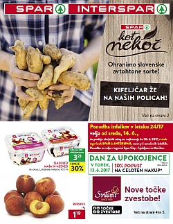 Spar in Interspar katalog do 20. 06.