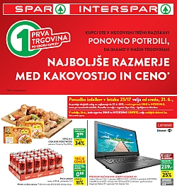 Spar in Interspar katalog do 27. 06.