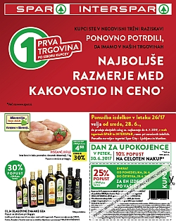 Spar in Interspar katalog do 04. 07.