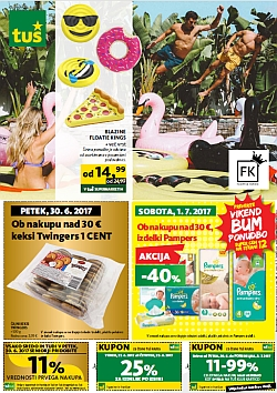 Tuš katalog trgovine in franšize do 03. 07.