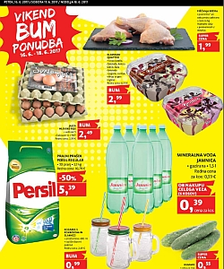 Tuš katalog Vikend BUM akcija do 18. 06.