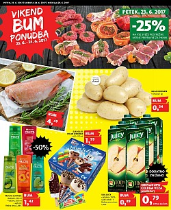 Tuš katalog Vikend BUM akcija do 25. 06.