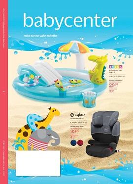 Baby Center katalog junij 2017