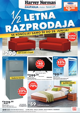 Harvey Norman katalog do 28.6.
