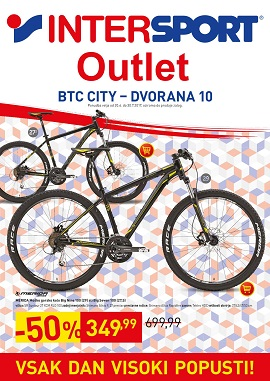 Intersport katalog Outlet BTC City
