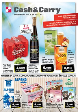 Mercator katalog Cash & Carry junij 2017
