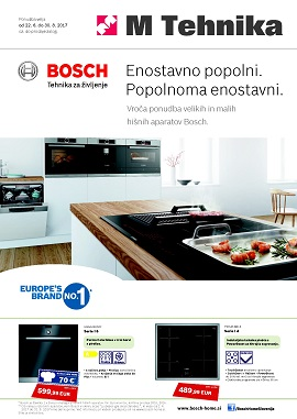 Mercator katalog Tehnika Bosch do 30.8.