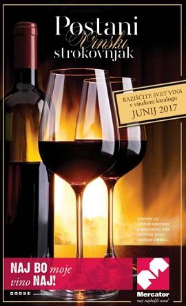 Mercator katalog Postani vinski strokovnjak
