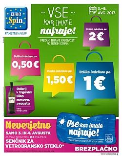 Eurospin katalog do 09. 08.