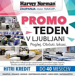 Harvey Norman katalog Promo teden v Ljubljani