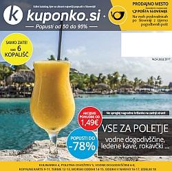 Kuponko katalog julij 2017