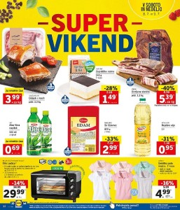 Lidl super vikend do 09. 07.