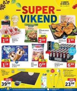 Lidl super vikend do 23. 07.
