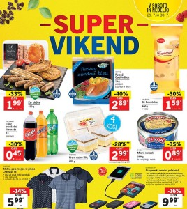 Lidl super vikend do 30. 07.