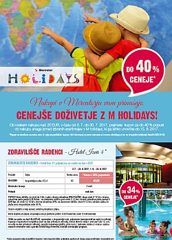 Mercator katalog M Holidays do 30. 07.