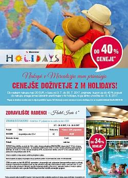 Mercator katalog M Holidays do 30. 07.