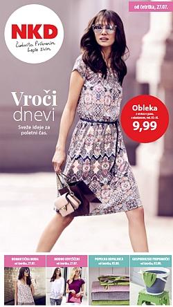 NKD katalog Vroči dnevi od 27. 07.