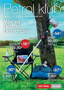 Petrol katalog Poletje 2017