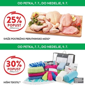 Spar in Interspar vikend akcija do 09. 07.