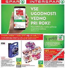 Spar in Interspar katalog do 11. 07.