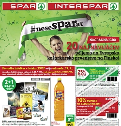 Spar in Interspar katalog do 25. 07.