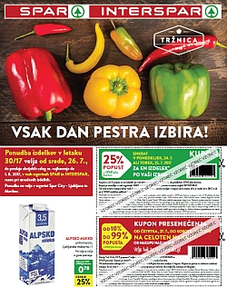 Spar in Interspar katalog do 01. 08.