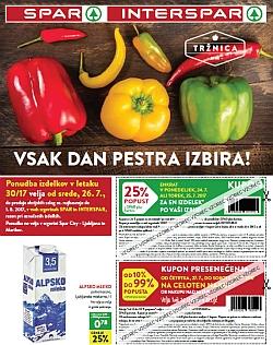 Spar in Interspar katalog do 01. 08.