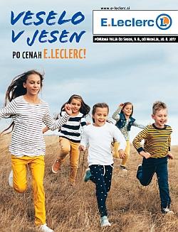 E Leclerc katalog Veselo v jesen do 20. 08.