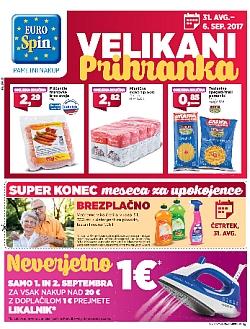 Eurospin katalog do 06. 09.