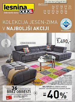 Lesnina katalog Kolekcija jesen-zima do 26. 08.