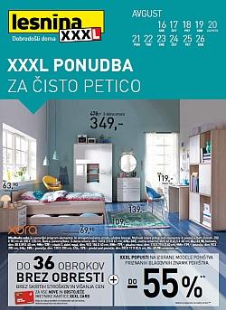 Lesnina katalog XXXL ponudba Maribor in Levec