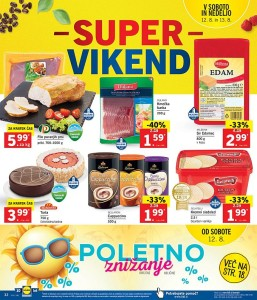 Lidl super vikend do 13. 08.