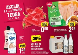 Mercator akcija do 30. 08.