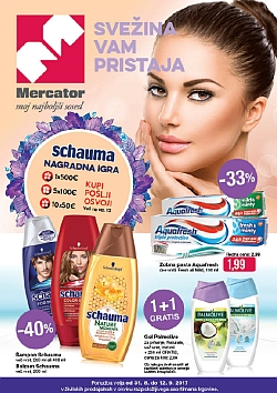 Mercator katalog Kozmetika do 12. 09.