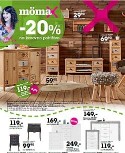 Momax katalog – 20 % na kosovno pohištvo