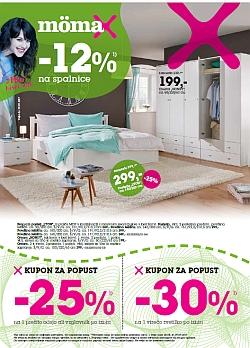 Momax katalog – 12 % na spalnice