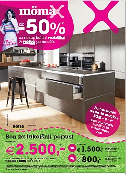 Momax katalog Kuhinje do – 50 %