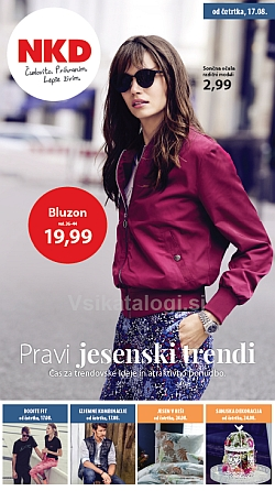 NKD katalog Pravi jesenski trendi od 17. 08.