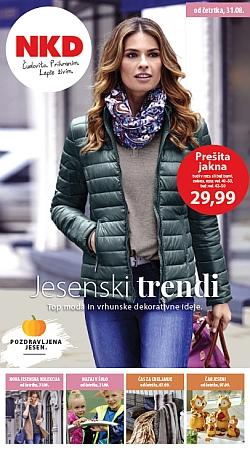 NKD katalog Jesenski trendi od 31. 08.