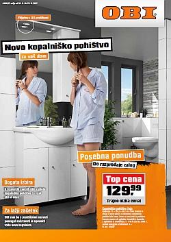 OBI katalog Novo kopalniško pohištvo