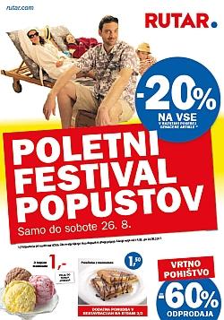 Rutar katalog Poletni festival popustov